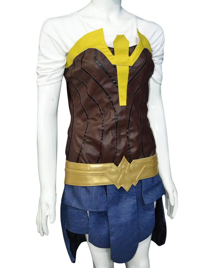 It's time to dress up with latest #WonderWoman Jacket costume which has been worn by #GalGaddot in Wonder Women movie Buy it from our online store and rock the party by wearing this costume.  #geek #comic #womenfashsion #stylish #likes #love #shopping #geekyants