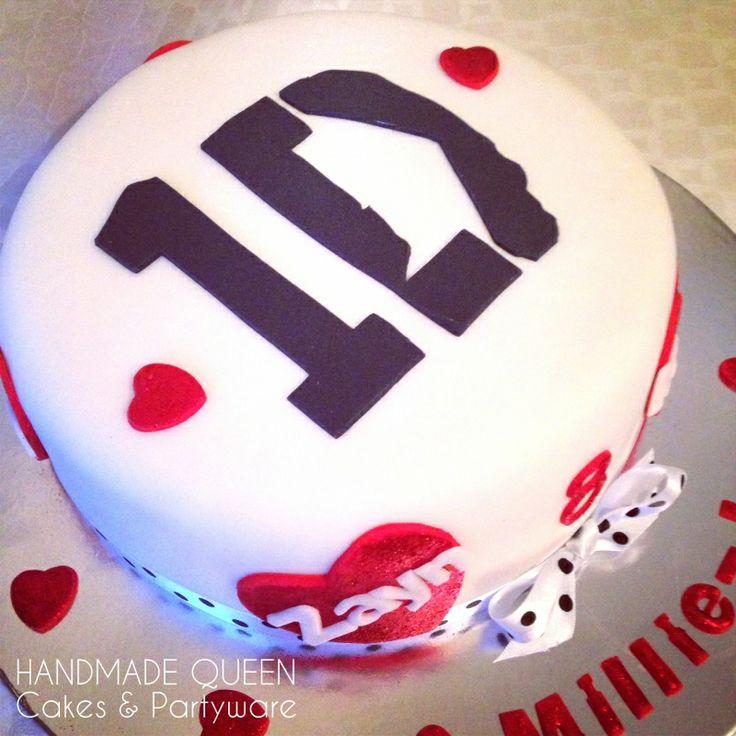 One Direction Birthday Cake #onedirection #1D #cake