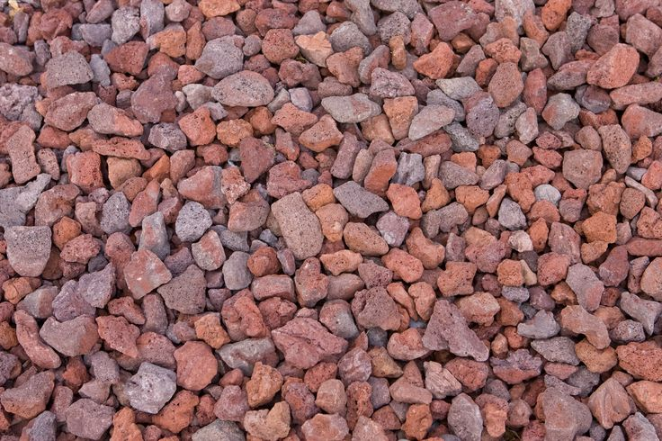 Red Landscaping Stone : Astounding lava rock landscaping home depot and