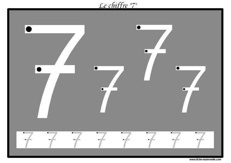 Des pistes graphiques plastifier pour apprendre crire for Le chiffre 13