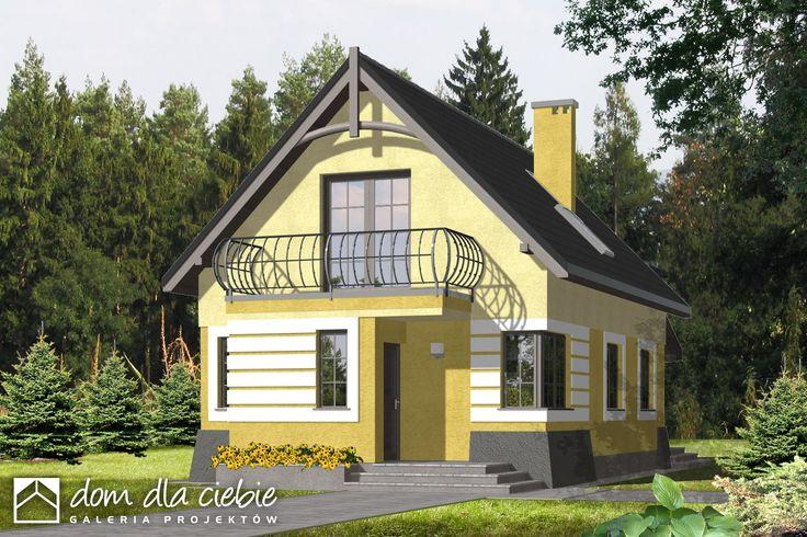 Projekt domu Iza - wariant B - Dom Dla Ciebie