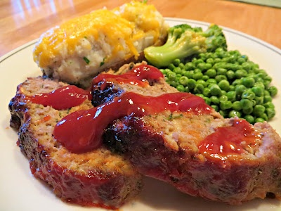 Turkey Meatloaf With Brown Sugar-Ketchup Glaze Recipes — Dishmaps