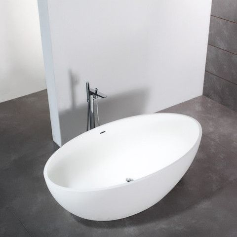 17 best Baignoires îlot design en solid surface Le Monde du Bain - hi tech acryl badewanne led einbauleuchten