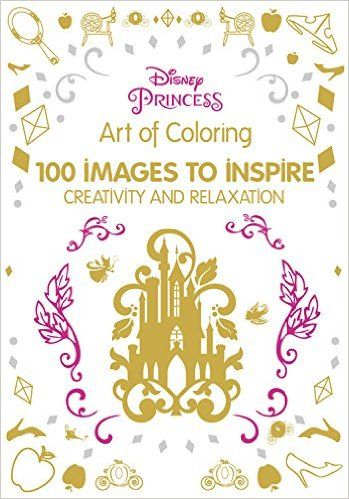 Disney Princess Adult Coloring Book