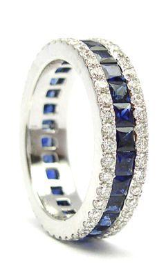 Beautiful Sapphire and Diamond ring