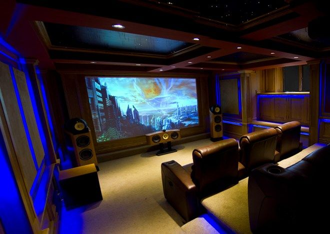 Bowers U0026 Wilkins Nautilus Home Theatre, Designed By ET Home Cinema