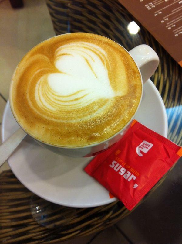 Cafe latte @ Bangalore
