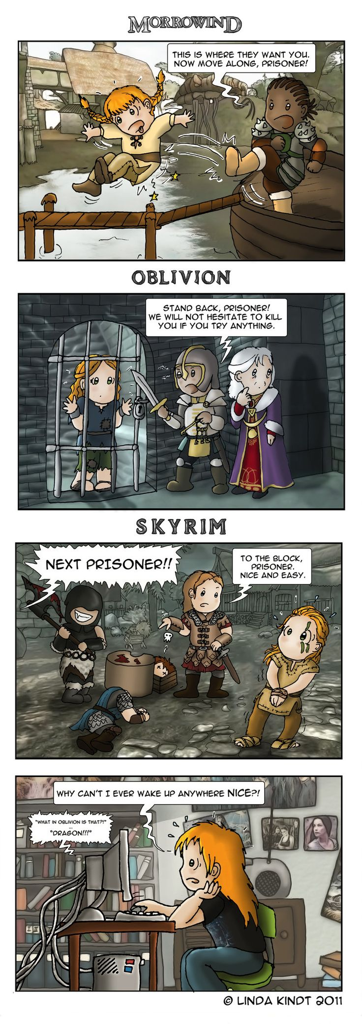 Once A Prisoner... by Isriana on deviantART. They are getting closer and closer to killing us!