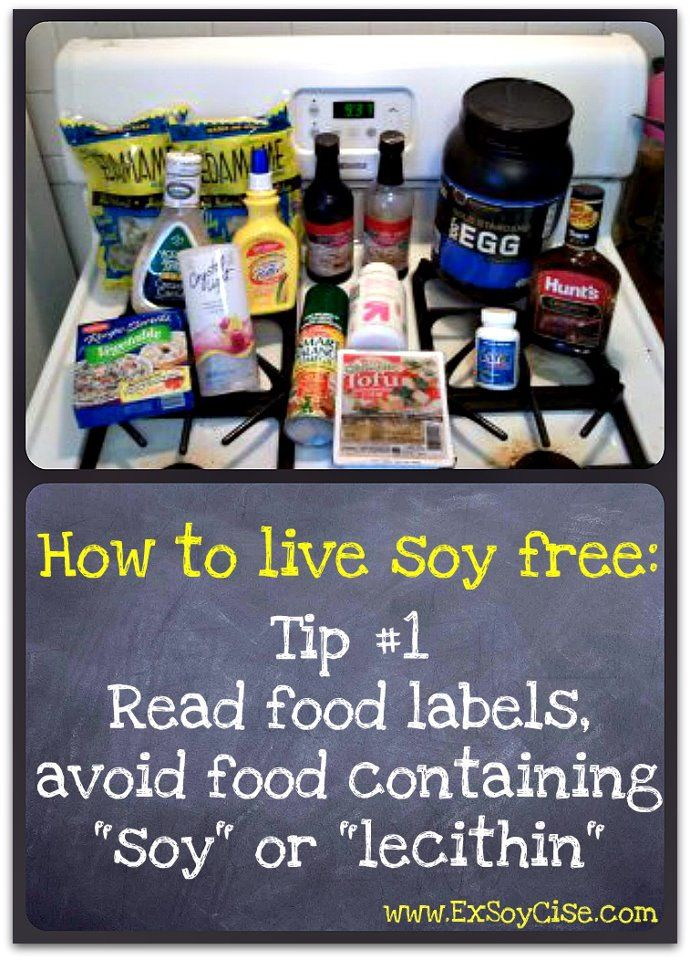 Living Soy Free - ExSoyCise #soyfree. If you are looking for a soy-free snack try Proscotti. Check out www.proscotti.com for more info!