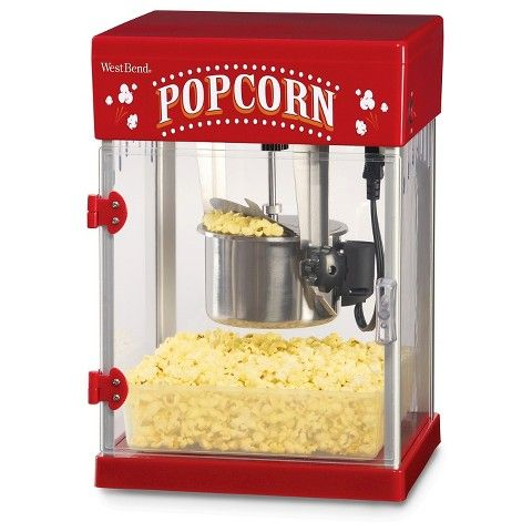 http://www.homekitchennyc.com/category/Popcorn-Machine/ West Bend Theater Popcorn Maker Machine