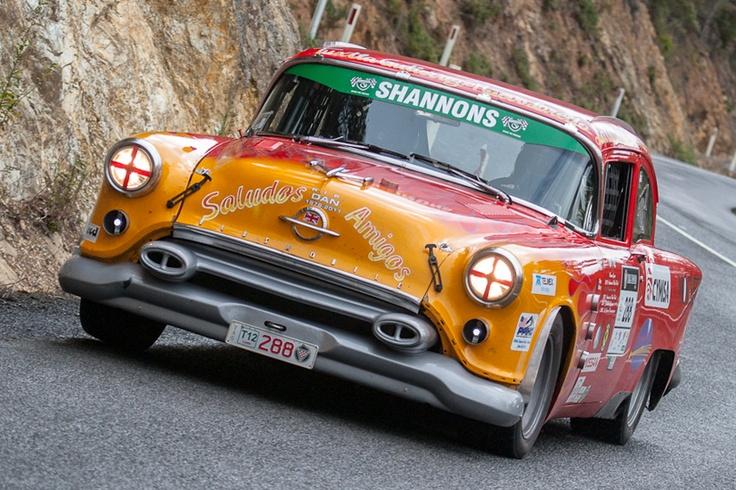 Targa Tasmania - Holwell
