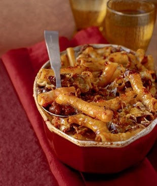 Baked Ziti with Spicy Pork and Sausage Ragù: Sausage Recipe, Cheese Recipe, Sausage Ragu, Baked Ziti, Baking Ziti, Enjoy Your Meal, Food, Sausage Ragù, Spicy Pork