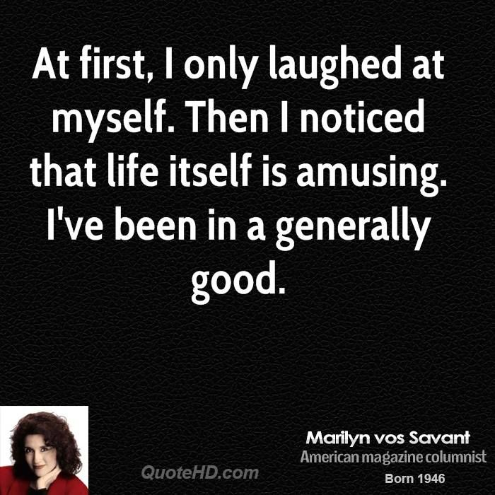 Marilyn vos Savant Quotes | QuoteHD