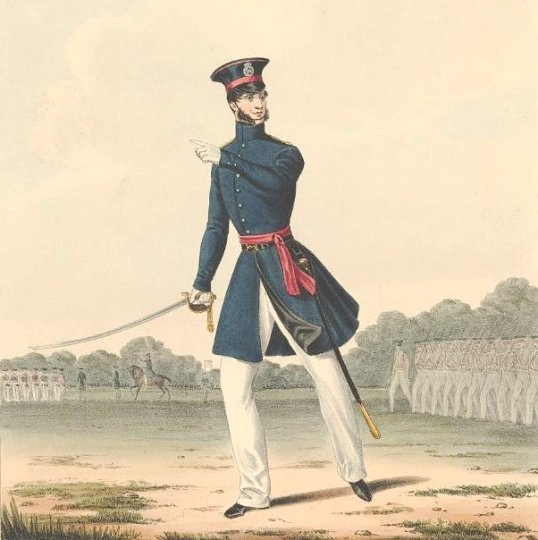 Officer of the 94th Regiment in Undress Order circa. 1830