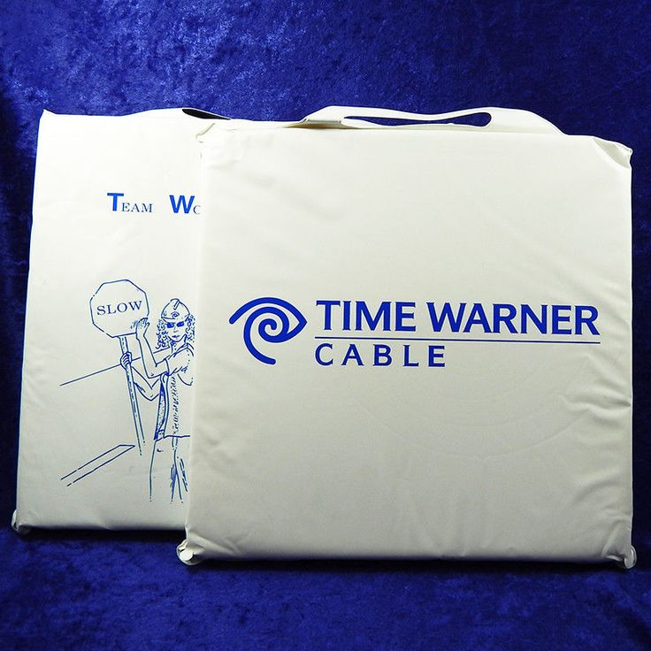 Time Warner Cable Vintage 80's Stadium Cushions Set of 2 #TimeWarnerCable