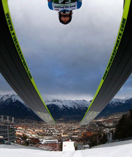 Ski jumping tournament Innsbruck, Austria
