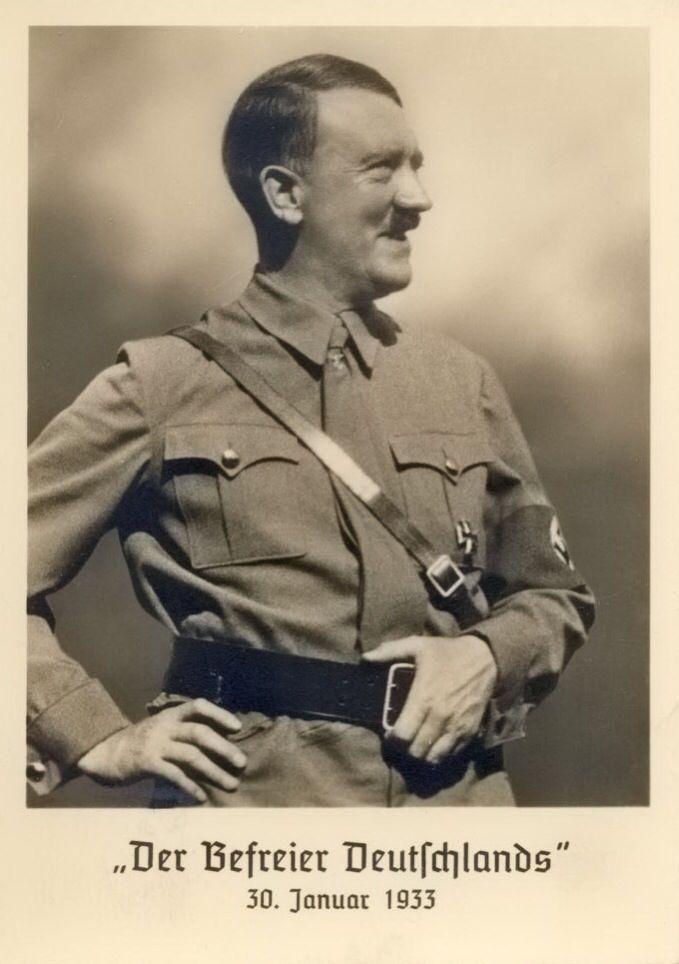 A few of Hitler's postcards 1931-1934 | Rare Photos of ...