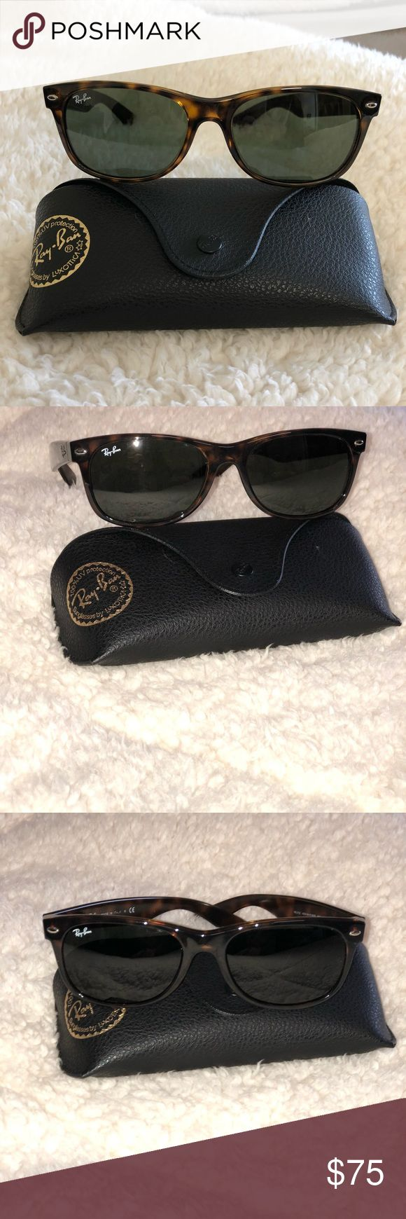 Ray-Ban Wayfarer Women's wayfarer sunglasses in brown. No scratches. In excellent condition. Will include original case. RB2132 Ray-Ban Accessories Glasses