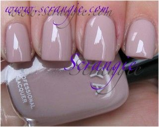 If you want just a hint of color on your nails or want a break from bold shades, this is the polish to go for. Zoya Kennedy is a peach-pink color with a touch of grey in a creme finish. It's the ideal color for everyday work wear and gives you a professional look. Requires three coats