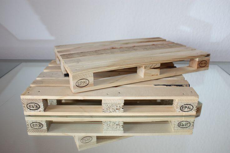 Geschenke für Männer - Miniatur Europalette, Maßstab 1:4 - ein Designerstück von stefan_falk bei DaWanda