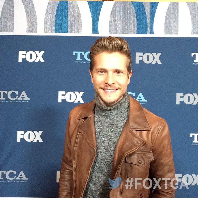 Matt Czuchry at the 2018 #FOXTCA for his new show The Resident!! Photo credit (photo not mine I take no credit) goes to @FOXTV on Twitter