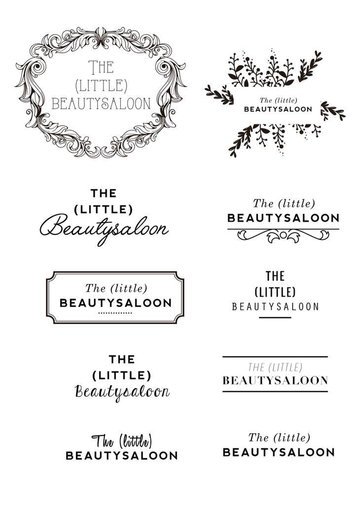 Logo concept for a beautysalon