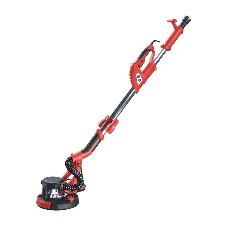 ALEKO DS2252VS 750W Telescopic Handle Adjustable Speed ETL Drywall Sander Paint Remover with Vacuum and LED Light