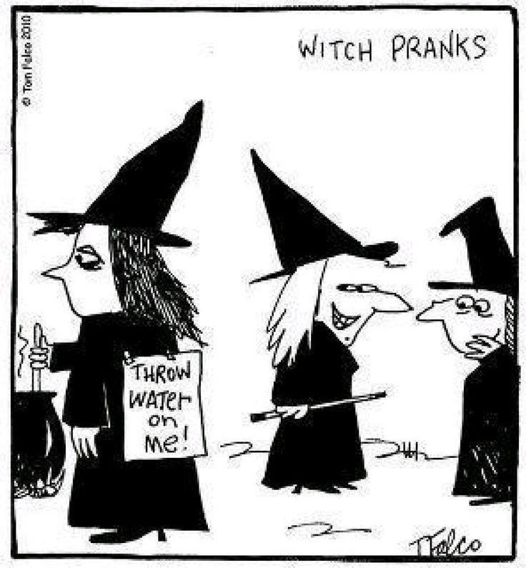 78 Best Images About Funny Witch Cartoons/memes On