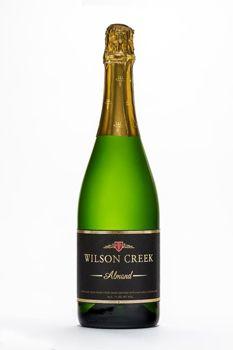 Wilson Creek Almond Champagne has a sweet and creamy palate