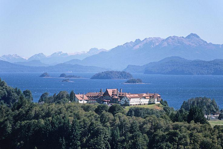 Llao Llao, Argentina. Lake Nahuel Huapi and Llao Llao Hotel & Resort. © Roberto Soncin Gerometta 1999