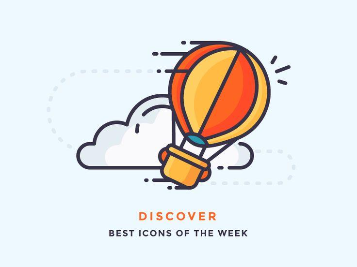 Dribbble - Best icons of the week!  by Justas Galaburda