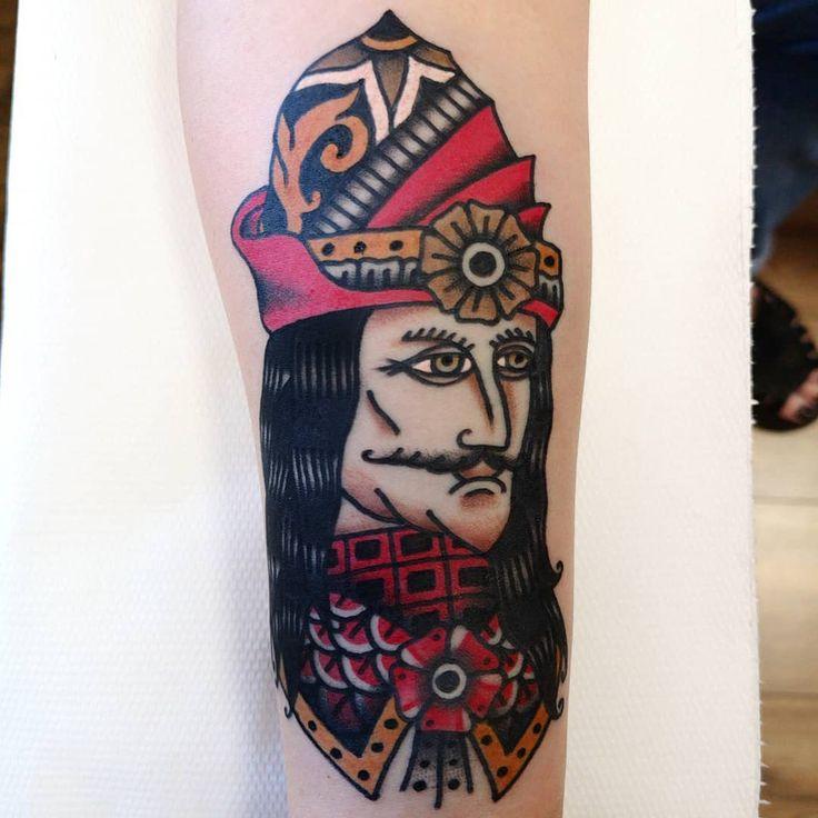 Vlad Tepes. . . #tattoo #tattoos #altes schultattoo #traditionaltattoo #boldtatto …
