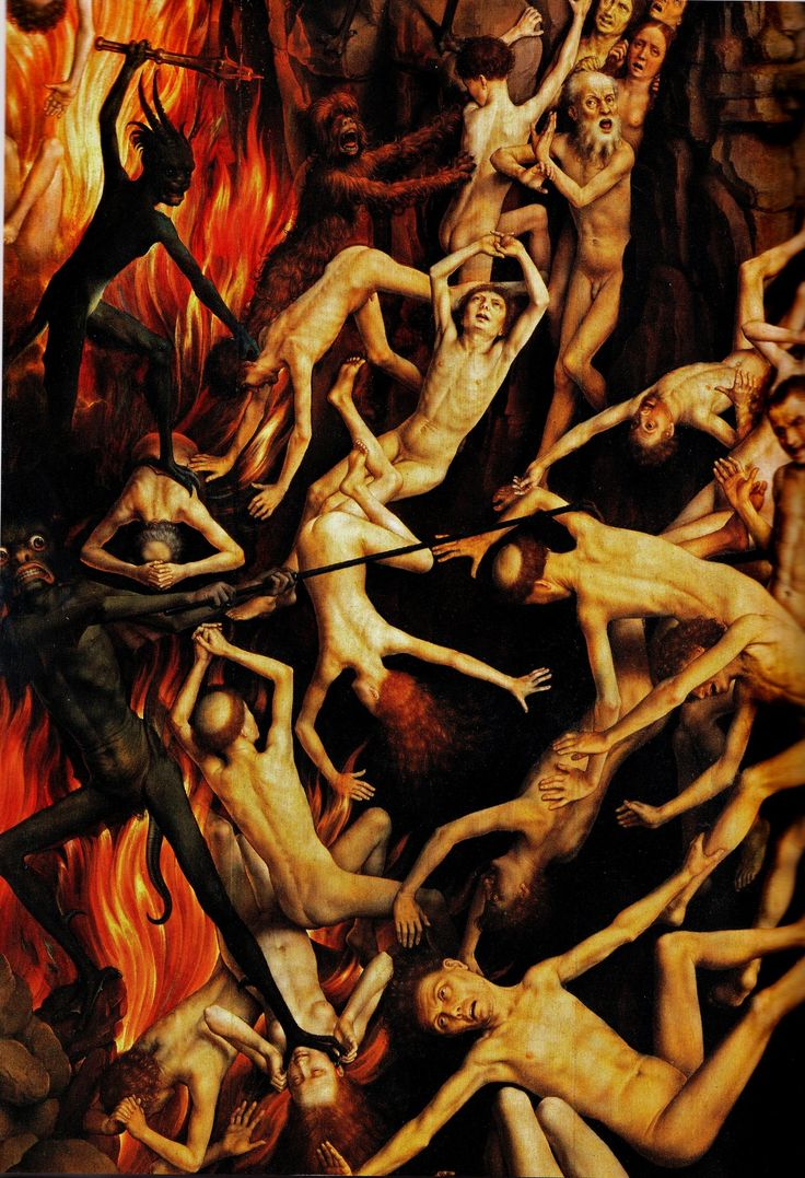 64 best art paintings of hell images on pinterest