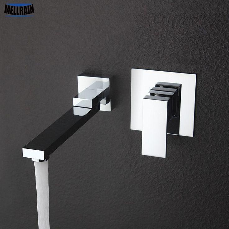 Wandmontage Drehbar Waschbecken Wasserhahn Messing Material