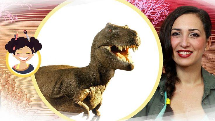 Miss Maddy - lectii de desen - Cum desenam un dinozaur?