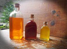 aceites de caléndula, hipérico y árnica