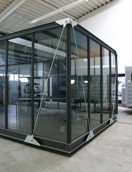 Bürocontainer / Messpavillion - ein Designerstück von VEMANO bei DaWanda