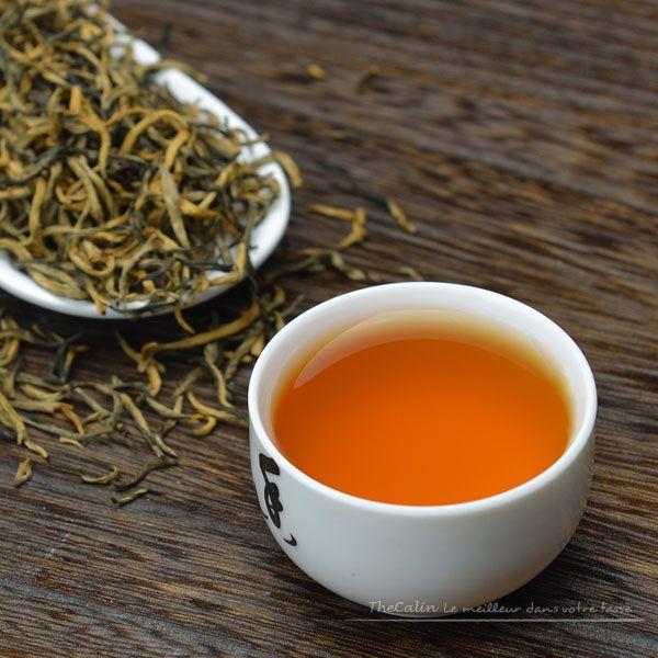 Yunnan Dian Hong Jin Hao : thé noir