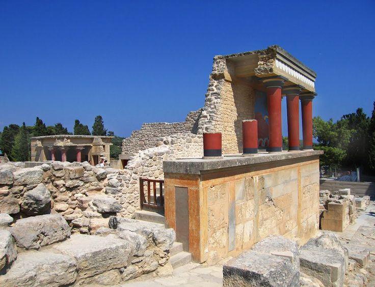 Knossos Palace, Heraklion Crete