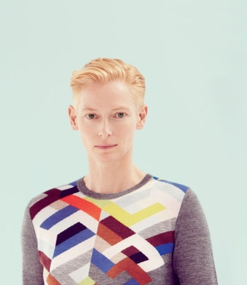 Tilda Swinton by Benjamin Alexander Huseby for The Gentlewoman Spring/Summer 2012