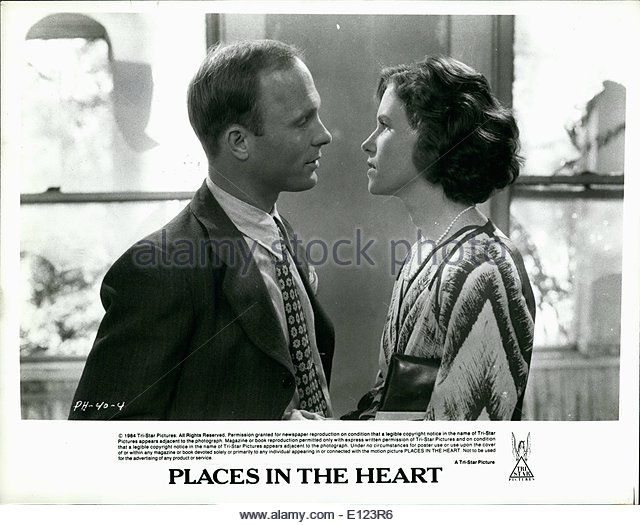 Jun. 06, 1984 - PH 40-4: Ed Harris and Amy Madigan have an extra marital affair that threatens to break up their - Stock Image