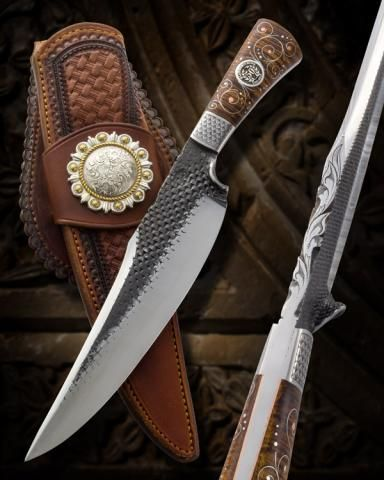 American Bladesmith Society Forum -> Gallery -> Viewing image -> ABS Director/Board Knife for 2013 - Joseph Keeslar, Master Smith