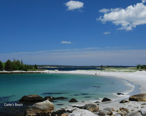 Carters Beach, Nova Scotia. Some of the most beautiful beaches in the world.  I have seen many.