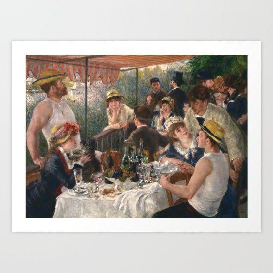 Auguste Renoir - Luncheon of the Boating Party (Le déjeuner des canotiers)