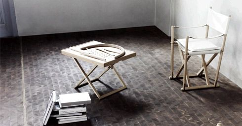Folding Chair http://www.wonenonline.nl/interieur-inrichten/meubelen/meubelen-regisseursstoel-folding-chair.html