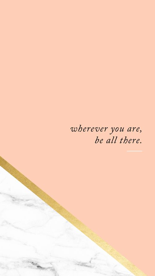 be all there // iPhone wallpaper download