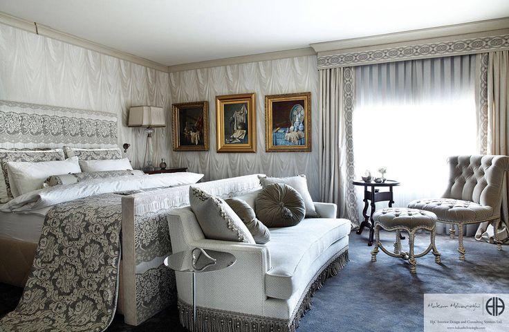 """Hakan Helvacıoğlu / H2C  - """"An Oriental Touch"""": Klasik tarz Yatak Odası"""