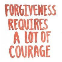 El perdón requiere mucho coraje #quotes #cita