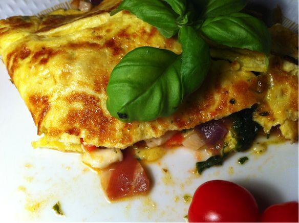 Lækker omelet