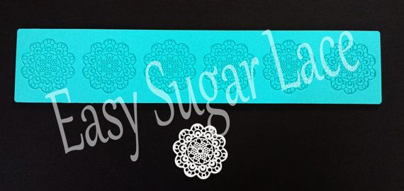 Silicone Cupcake AZTEC CAKE LACE Mat / Mold for by EasySugarLace